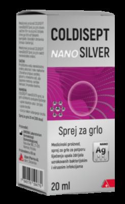 Coldisept NanoSilver sprej za grlo
